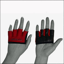 FIT FOUR BLACK AND RED ANTI-RIPPER GLOVES