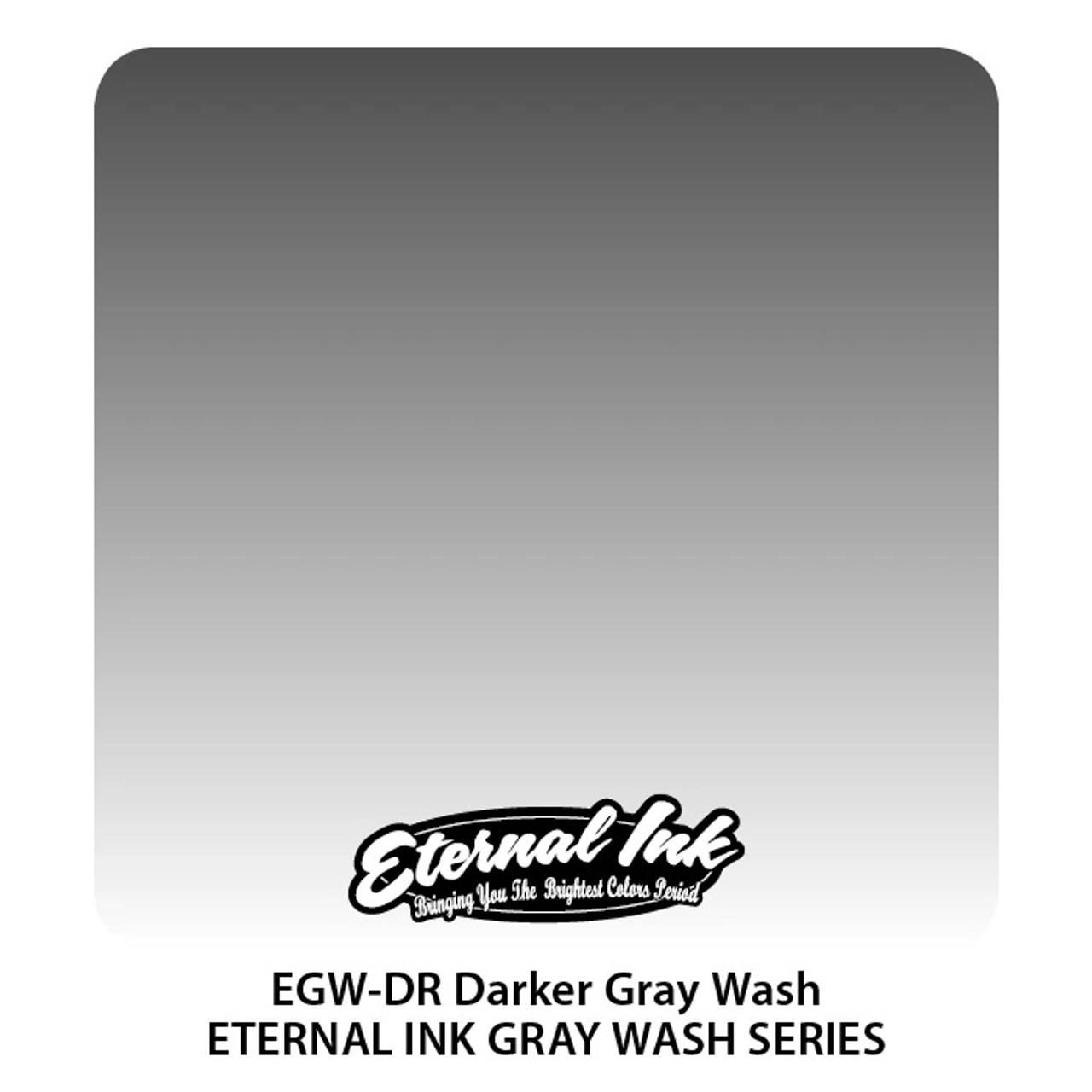 Eternal Inks Darker Gray Wash - Series, 1oz.