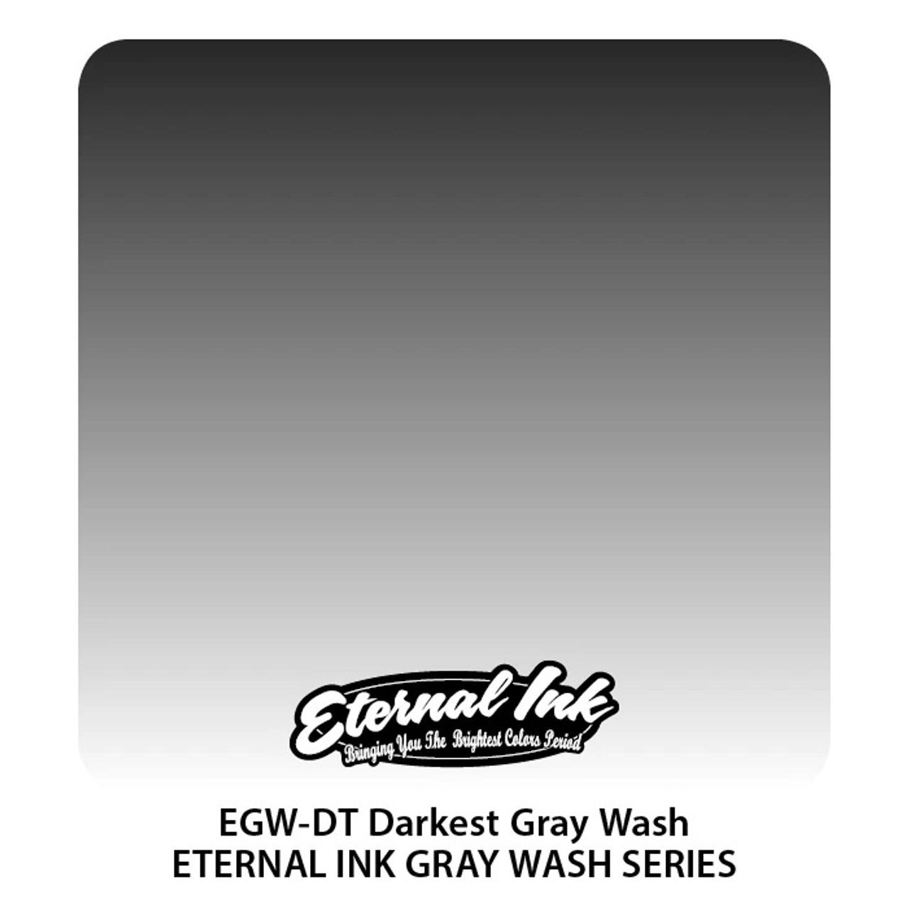 Eternal Ink Darkest Gray Wash - Series, 1oz.
