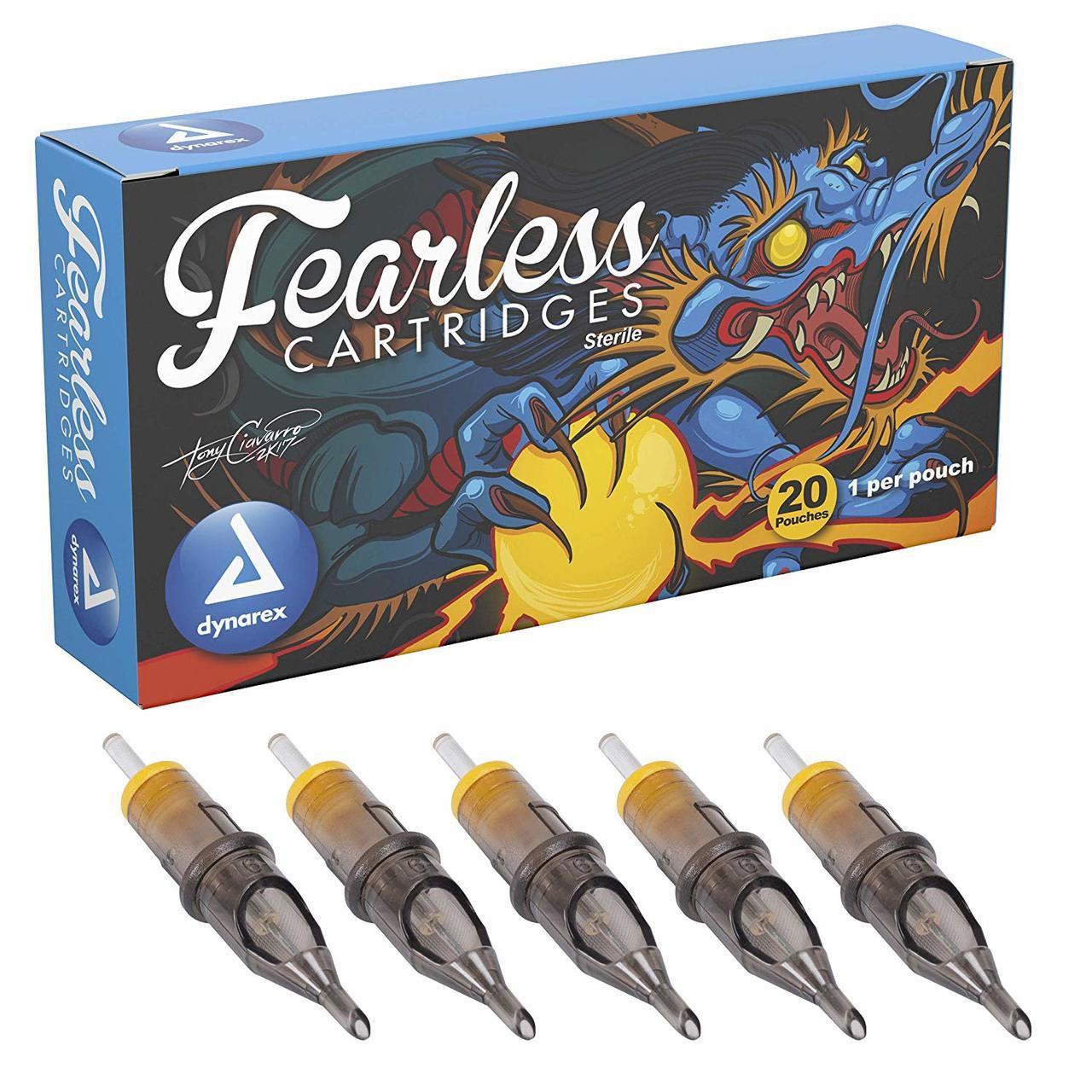 Fearless Magnum Tattoo Cartridges, 20/BX