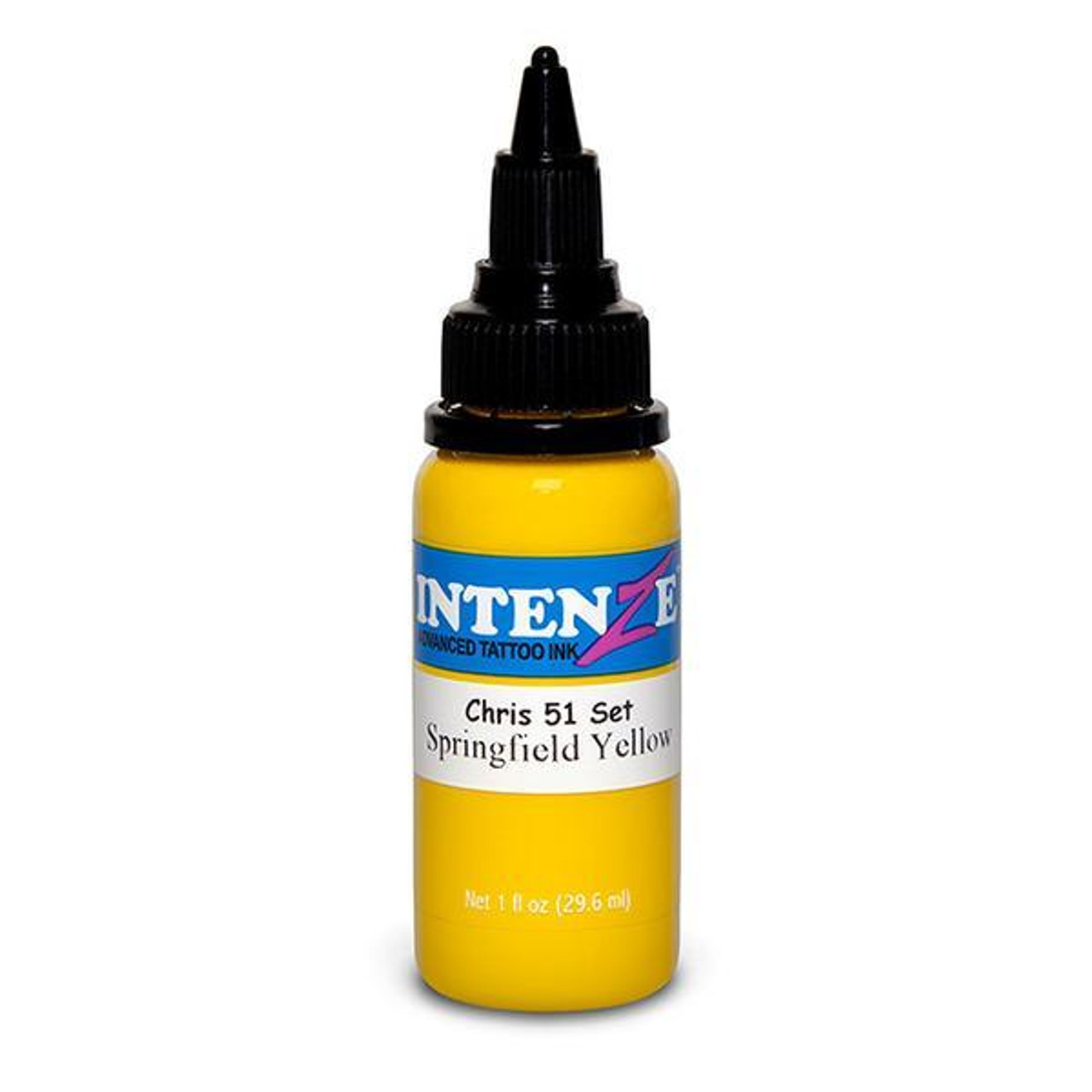 Intenze Springfield Yellow - Chris 51 Geek Tattoo Ink Set