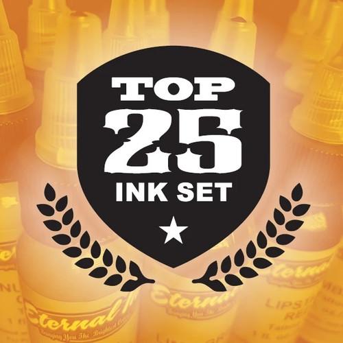 Eternal Top 25 Ink Set, 1oz.