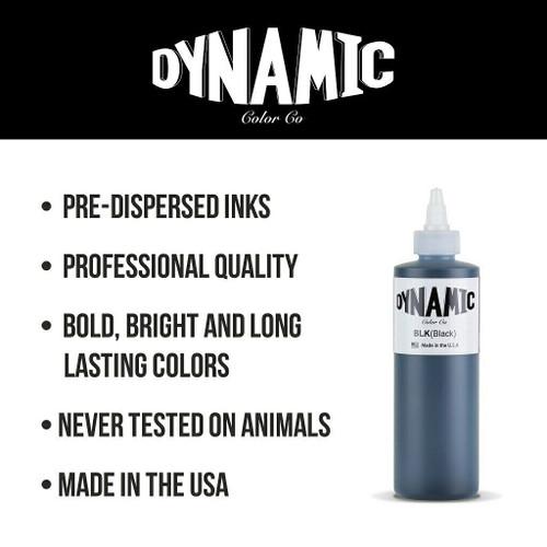 Dynamic Triple White 8 oz. Bottle