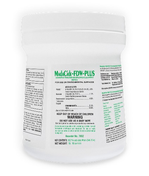 Madacide-FD PLUS Disinfectant Wipes (Fast Drying) 160/CN