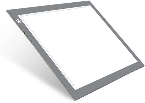 EASY CARRYING -- Light weight super slim light pad, thickness only 0.2''