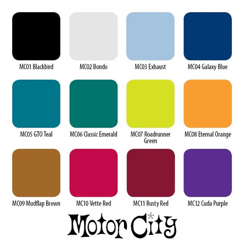 Motor City Ink Signature Series Set, 1oz.