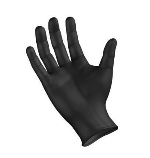 Black Nitrile Gloves, Powder-Free, Non-Sterile, 100/Bx, 10Bx/Cs