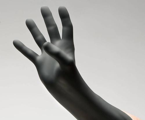 BLACKWORK® Black Nitrile Exam Gloves – Series 30, 100/Bx, 10Bx/Cs