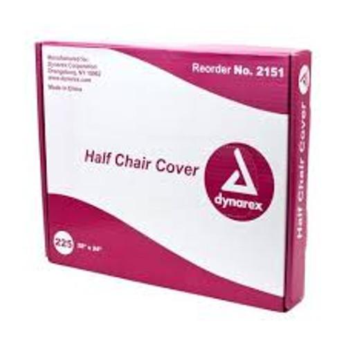 """Tattoo Half Chair Cover, 28"""" x 24"""", 225/Bx"""
