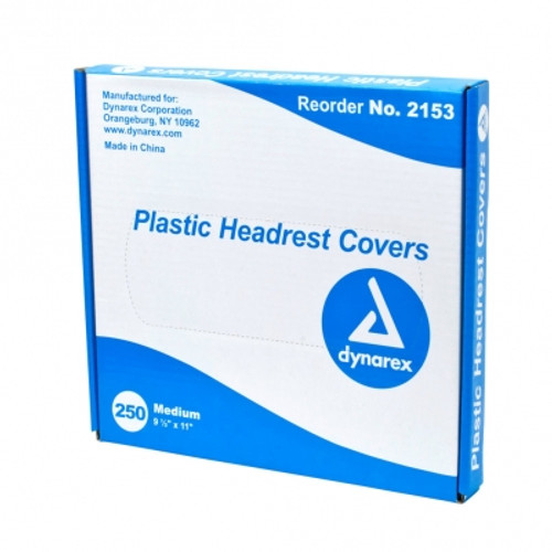 Tattoo Plastic Headrest Covers, 250/Bx