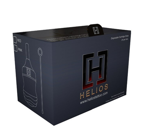 Helios Cartridge Grips Pink - Box of 24