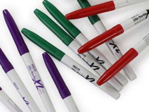 VISCOT XL Skin Marker, Prep Resistant Ink