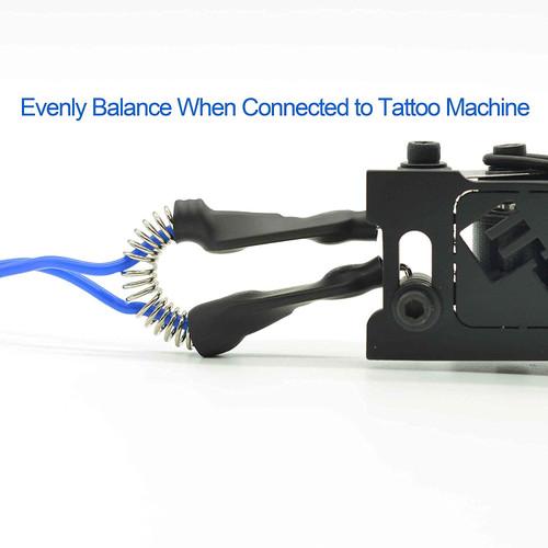 Element Tattoo Machine Clip Cord, 6', Blue