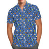 Men's Button Down Short Sleeve Shirt - Star Wars Mouse Ears