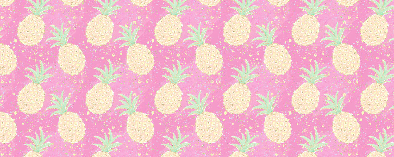 Beach Please Pineapples