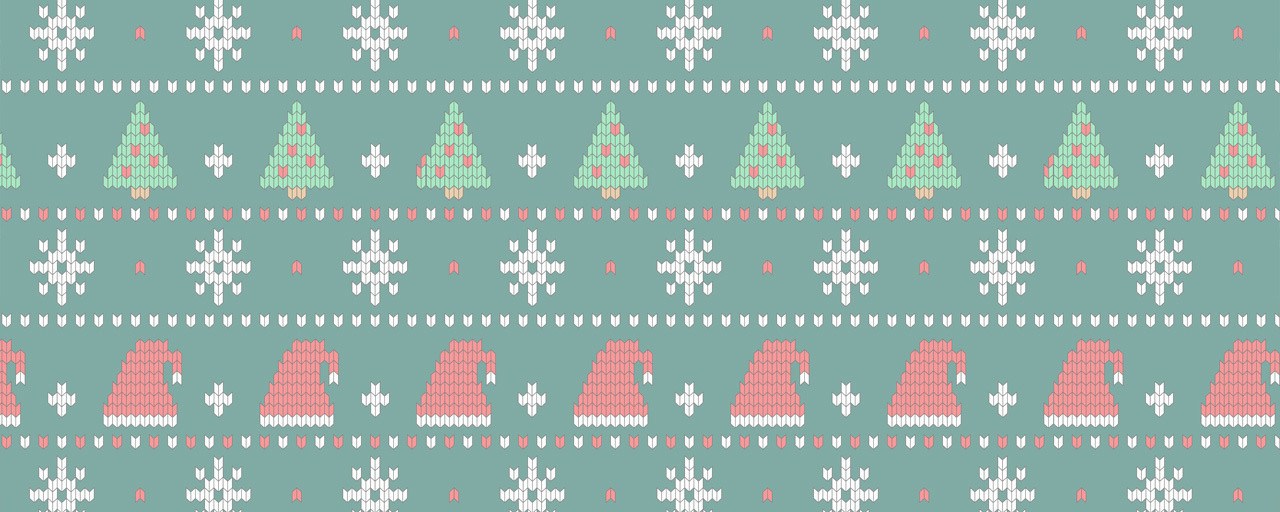 Ugly Christmas Trees Sweater Pattern