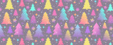 Neon Christmas Trees