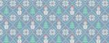 Ugly Christmas Snowmen Pattern