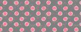Minnie Hand-drawn Polka Dots Black Disney Inspired