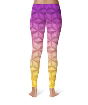 Sport Leggings - Epcot Spaceship Earth