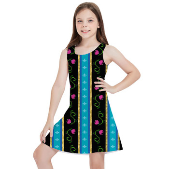 Girls Sleeveless Dress - Ice Princess Anna