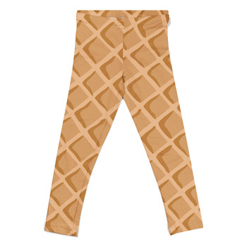 Girls' Leggings - Icecream Waffle Cone