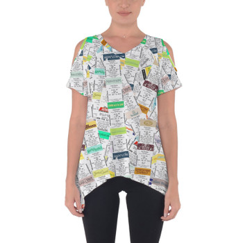 Cold Shoulder Tunic Top - Fastpass