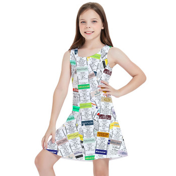 Girls Sleeveless Dress - Fastpass