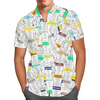 Men's Button Down Short Sleeve Shirt - Fastpass