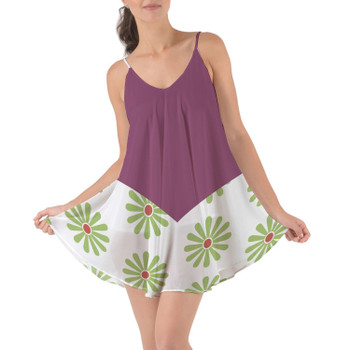 Beach Cover Up Dress - Haunted Mansion Tightrope Walker