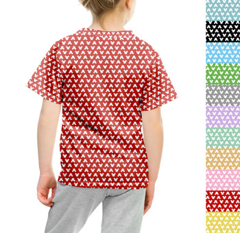 Youth Cotton Blend T-Shirt - Mouse Ears Polka Dots