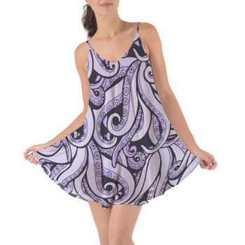 Beach Cover Up Dress - Ursula Villains Inspired