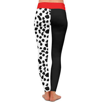 Yoga Leggings - Cruella de Vil Villains Inspired