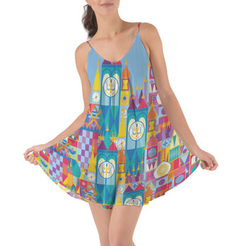 Beach Cover Up Dress - Its A Small World Disney Parks Inspired