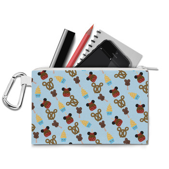 Canvas Zip Pouch - Snack Goals Disney Parks Inspired