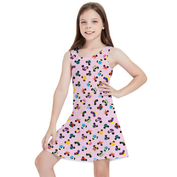 Girls Sleeveless Dress - Princess Mouse Ears