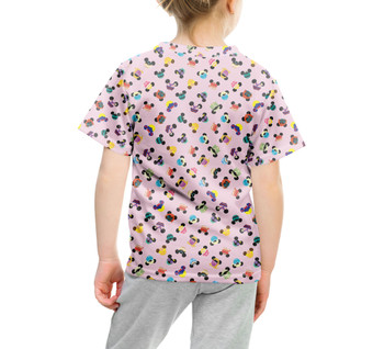 Youth Cotton Blend T-Shirt - Princess Mouse Ears