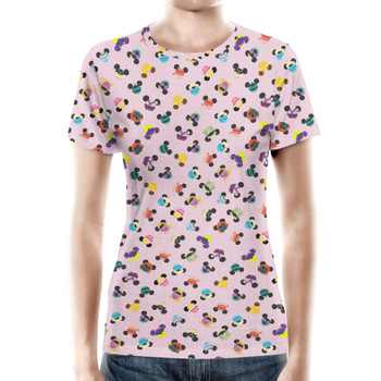 Women's Cotton Blend T-Shirt - Princess Mouse Ears