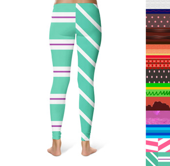 Sport Leggings - Sugar Rush Racers Wreck It Ralph Inspired