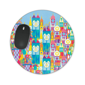 Mousepad - Its A Small World Disney Parks Inspired