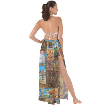 Maxi Sarong Skirt - Frontierland Vintage Attraction Posters