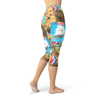 Winter Capri Leggings - Frontierland Vintage Attraction Posters