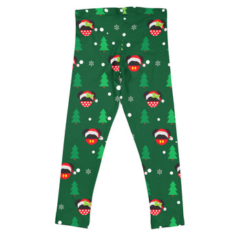 Girls' Leggings - Christmas Santa Mickey & Minnie