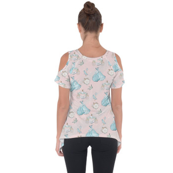 Cold Shoulder Tunic Top - Almost Midnight Cinderella Inspired