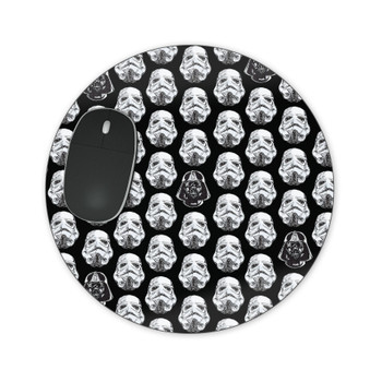 Mousepad - Vader & Storm Trooper Helmets SW Inspired