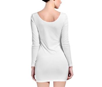Velvet Longsleeve Bodycon Dress