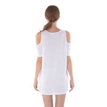 Shoulder Cutout Tunic Dress