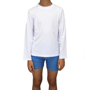 Kids' Long Sleeve UV Protection Swim Top