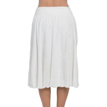 Velvet Flared Midi Skirt