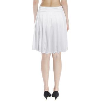 Pleated Knee-length Skirt